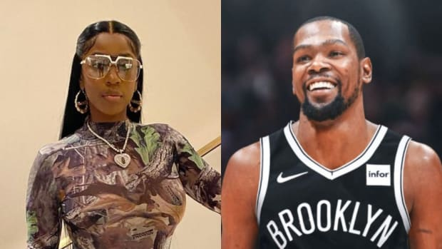 Kash Doll: 'I FaceTimed Kevin Durant Last Night On Set While My Black Eye And Bloody Nose Make Up Was On And Told Him His Fans Did That To Me Because Of The KD Argument'