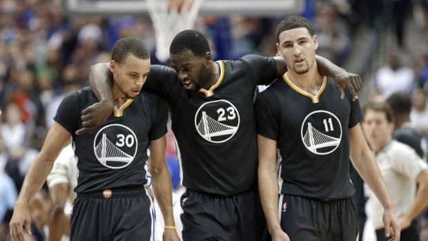 """Draymond Green On Meeting Stephen Curry And Klay Thompson For The First Time: """"Those Two Guys Aren't Going To Give You Anything Not To Like About Them"""""""