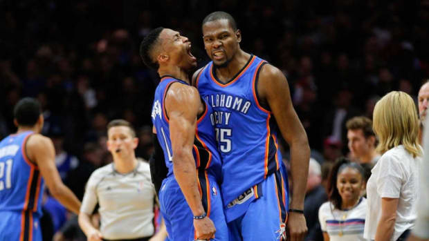"""Kevin Durant Responded To Mark Cuban Saying Russell Westbrook Is Not A Superstar: """"He's An Idiot."""""""