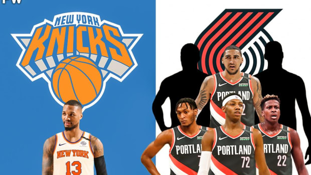 The Blockbuster Trade Idea: New York Knicks Should Send 6 Young Players For Damian Lillard