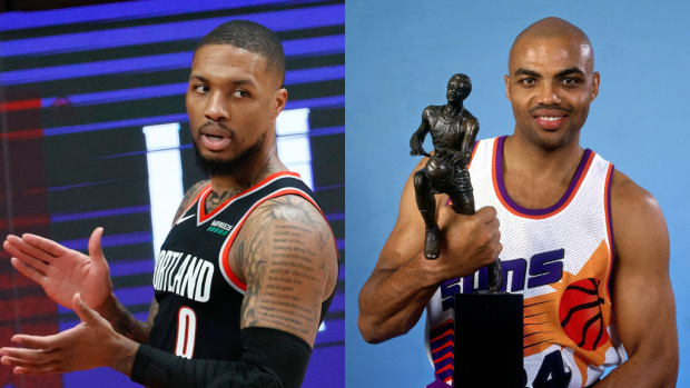 Damian Lillard Explains Why He Should Win The MVP: 'Look How They Talk About Charles Barkley, Who Was A Legend. This Dude Was Cold, Was An MVP, Number One In The West. He Just Happened To Lose To Jordan.'