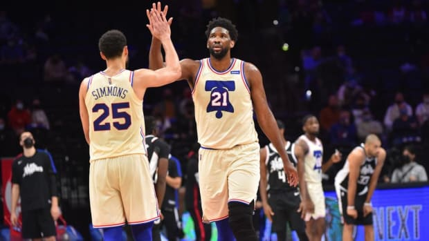 "Joel Embiid: ""I've Always Wanted To Be Like Hakeem And MJ, Or Giannis Last Year To Win MVP And Defensive Player Of The Year."""