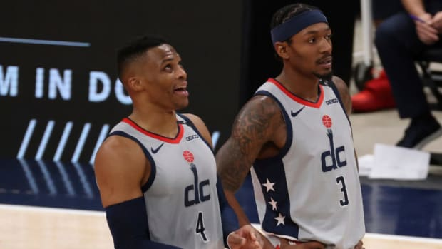 "Bradley Beal Defends Russell Westbrook- ""He's All About Team. He's All About Winning."""