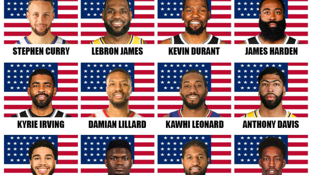 The Best Possible USA Dream Team That Can Be Created For The 2021 Olympics
