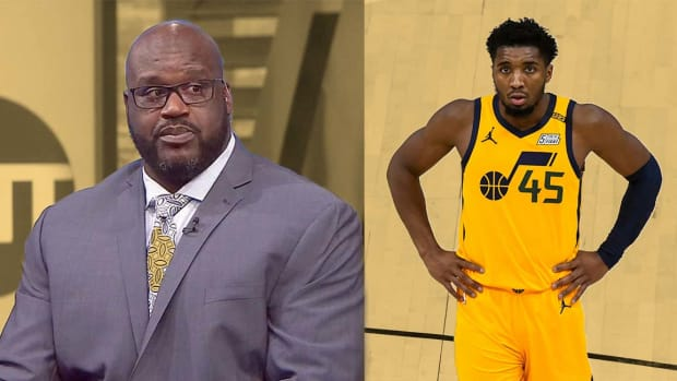 """Shaq O'Neal Defends His Comments About Donovan Mitchell- """"I Was Just Testing His Temperature..."""""""