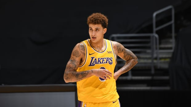 """Frank Vogel On Kyle Kuzma- """"The Positivity He Brings To Our Team..."""""""