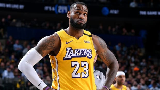 "Stephen A. Smith Says The Lakers Will Not Win The West- ""LeBron Looks Like A Shell Of Himself."""