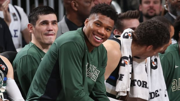"Giannis Antetokounmpo- ""If My Son Asked Me, 'Dad, When Are You Going To Retire And Play More With Me?' I'd Retire Right Now."""