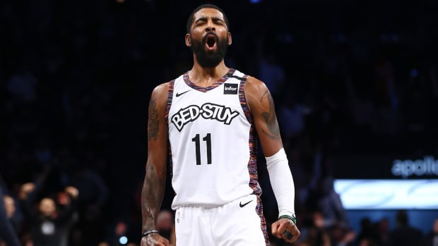 NBA Twitter Blasts Kyrie Irving After Blaming Iso Ball For Their Struggles