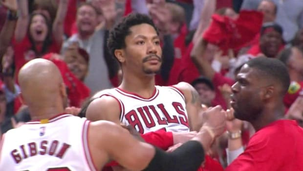 Six Years Ago Today- One Of The Greatest Moments Of Derrick Rose's Career