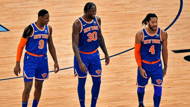 NBA Twitter Reacts After Knicks Clinch Playoff Spot For First Time Since 2013