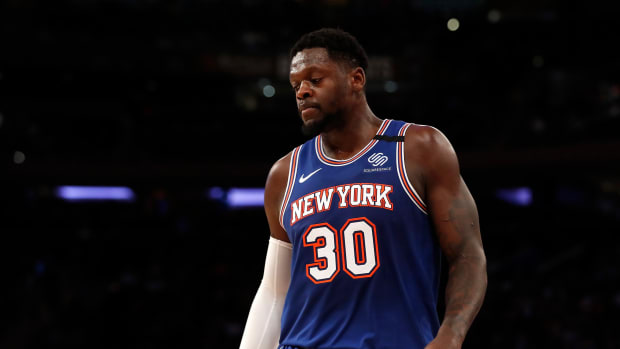 """Julius Randle- """"I Want To Retire A Knick."""""""