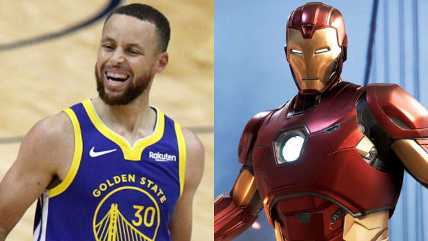 Steph iron man