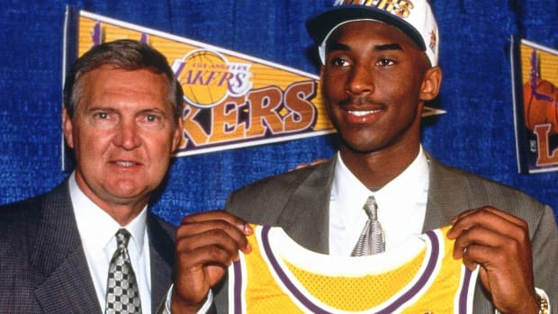 kobe bryant draft jerry west