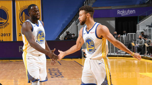 "Draymond Green On Steph Curry- ""A Lot Of Superstars In Their Prime Would Complain About The Lack Of Veterans On The Team. And He Just Hasn't At All."""