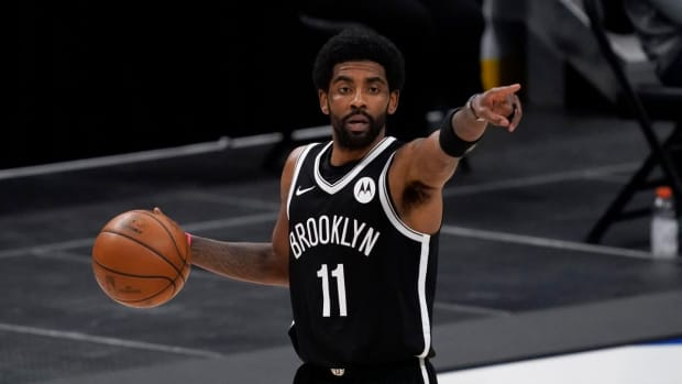 "Kyrie Irving Explains Why He's Lost His Focus- ""There's A Lot Of Stuff That's Going On In This World, And Basketball's Just Not The Most Important Thing To Me Right Now."""