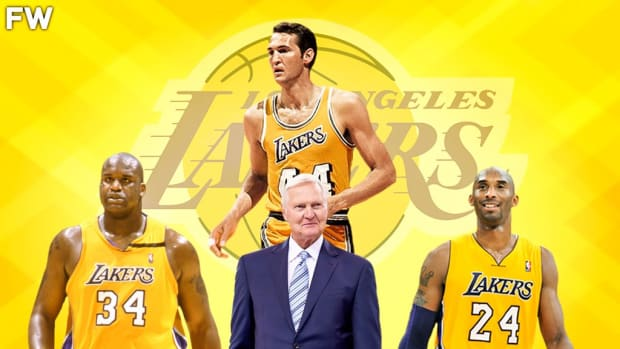 The Case For The Logo: Why Jerry West Is A Top-5 Laker Of All-Time