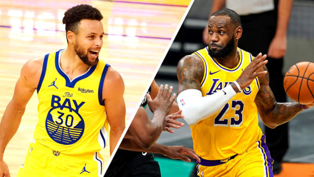 NBA Twitter Reacts After LeBron James And The Lakers Beat Golden State In Epic Play-In Game