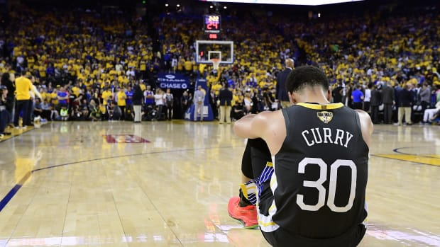 """Steph Curry Reacts To Play-In Loss- """"Very Tough Way To End It."""""""