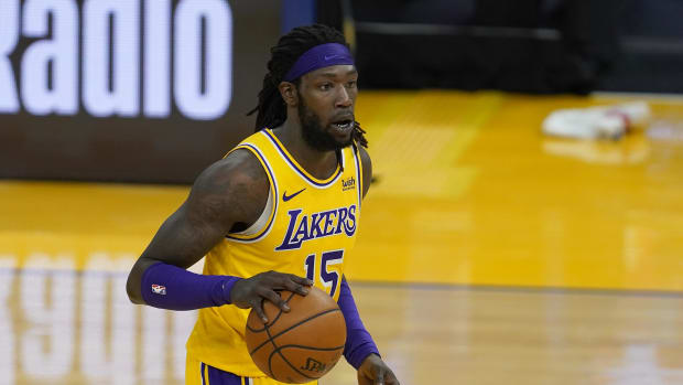 Montrezl Harrell Caught Liking Tweets Complaining About His Minutes With The Lakers