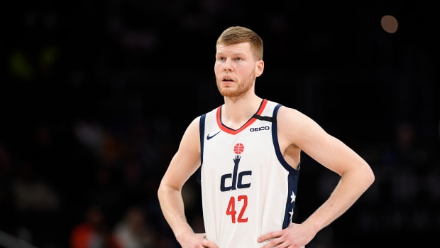 Davis Bertans Gets Roasted After Going For 0 Points, 0 Assists, 0 Steals, 0 Blocks And 6 Fouls In Game 2