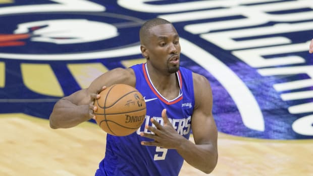 """Clippers Big Man Serge Ibaka- """"Will You Believe Now I'm Telling  You We Will Also Win The Series?"""""""