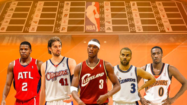 Re-Drafting The 2001 NBA Draft: Who Would Select Kwame Brown?