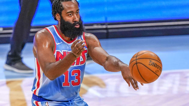 James Harden Shows Off New Moves While Putting Work In The Gym Ahead Of Next Season