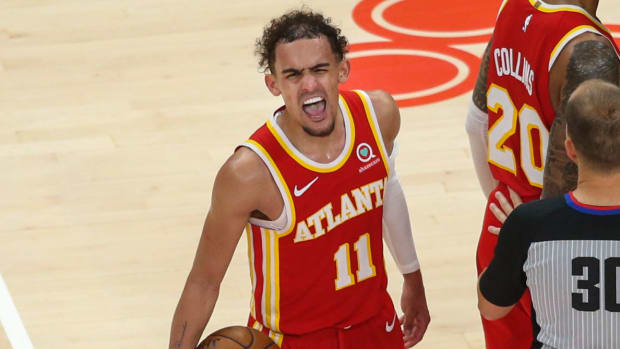 """Trae Young Responds After Knicks Fall To 1-3- """"I Don't Care If They're In Their Feelings Or Who's Mad Or Who's Not."""""""
