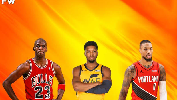 10 NBA Players With The Most Points In A Playoff Loss