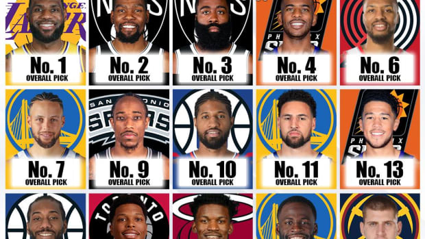 The Best NBA Players By Draft Pick: From No. 1 To No. 60