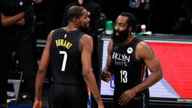 "Kevin Durant On James Harden's Hamstring Injury- ""S**t Sucks."""