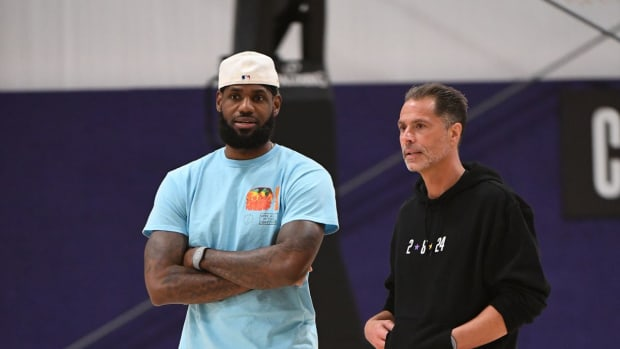 """Lakers GM Rob Pelinka- """"We Feel Like The Roster We Had This Year Was A Championship Caliber Roster."""""""