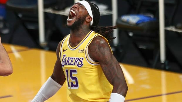 """Montrezl Harrell On His Future With The Lakers- """"I Don't Know That Holds Right Now."""""""