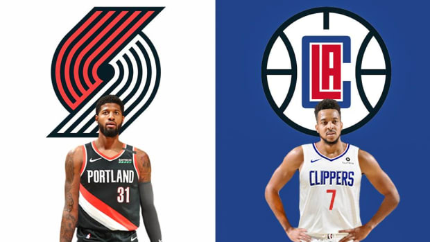 NBA Rumors- Clippers Could Trade Paul George For CJ McCollum