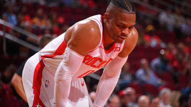 """Kendrick Perkins Explains Why Russell Westbrook Left The Houston Rockets- """"He Wasn't Being Treated Like The Star That He Should Have Been Treated Like."""""""
