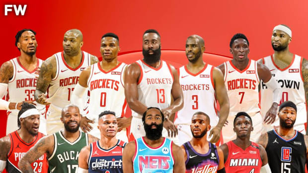 The Houston Rockets Lost 3 Superstars And 5 Good Players In The Last 2 Years