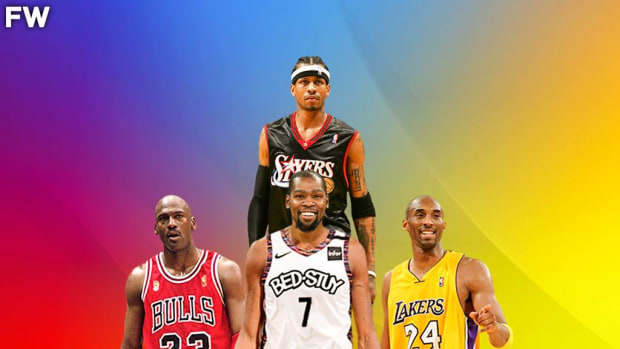 Kevin Durant Is The 4th Best Scorer In NBA History, Behind Michael Jordan, Kobe Bryant, And Allen Iverson