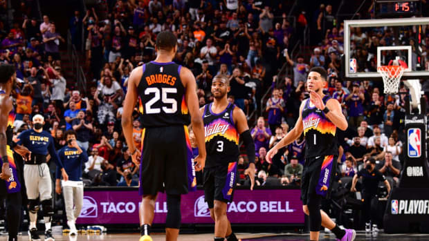 NBA Fans React After Suns Clinch Western Conference Finals Berth