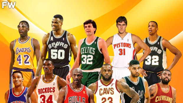 Only 11 Top-3 Picks Have Won Championships With The Team That Drafted Them