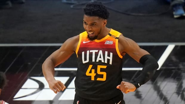 """Donovan Mitchell Explains Why He Chose No. 45- """"23 Ran Out..."""""""