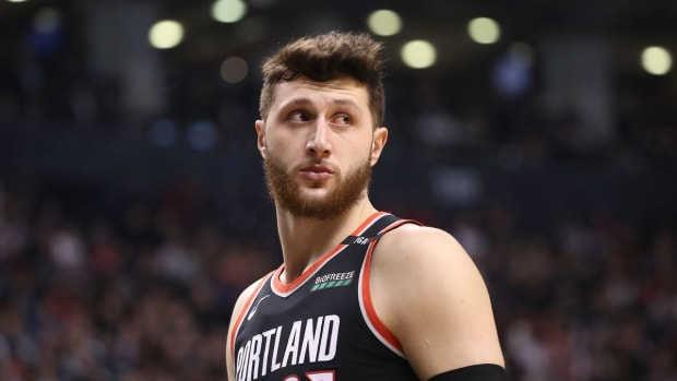 """Jusuf Nurkic """"Not Happy"""" With His Role On Portland Trail Blazers"""