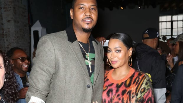 Carmelo Anthony And Wife, La La, File For Divorce After 11 Years Of Marriage