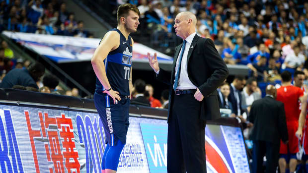 """Luka Doncic Yelled At Rick Carlisle In The Middle Of A Game- """"Who's In Charge, You Or Bob?"""""""