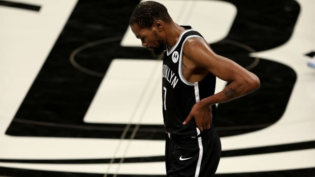 Kevin Durant Reportedly Wears One Full Size Bigger Shoes In Games Than His Actual Size