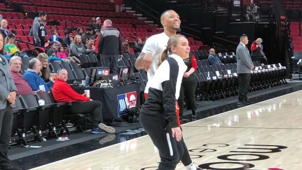 NBA Rumors- Becky Hammon Is A Finalist To Become Portland Trail Blazer's Head Coach