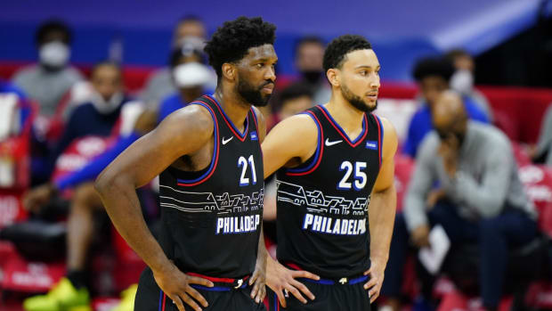 """Brian Windhorst Says Joel Embiid I The """"Wild Card"""" In Potential Ben Simmons Trade"""