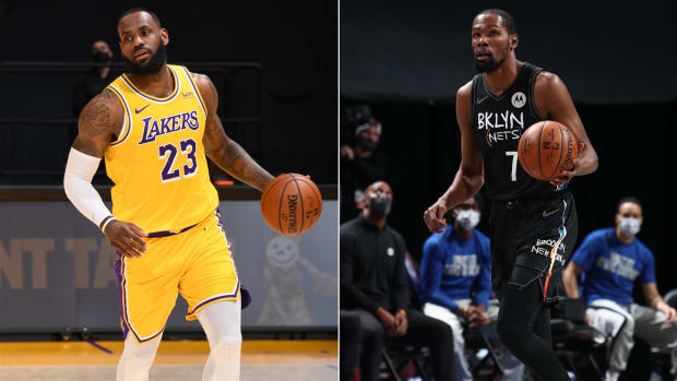 """Scottie Pippen On Kevin Durant- """"Has He Gotten To LeBron's Level Yet? He Went Home. He Still Has Learning To Do On What It Takes To Will A Team To Victory."""""""
