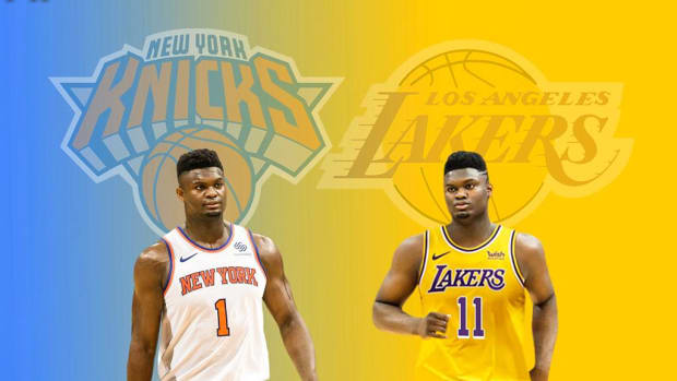 Zion Williamson Is Destined To Play For The Los Angeles Lakers Or New York Knicks