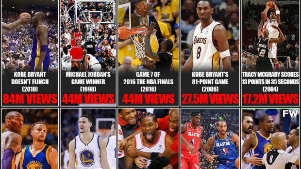 The Most Watched NBA Moments In The Last 30 Seasons